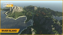 Small River Island Minecraft Map & Project