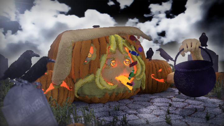 The Fool Pumpkin And The Tricksy Fairies Minecraft Project