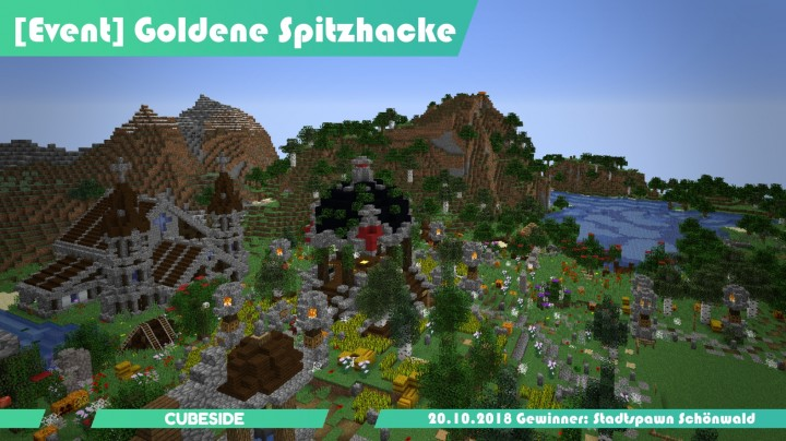 Popular Server Project : [Survival] Stadtspawn Schoenwald - Cubeside.de - [Event] Goldene Spitzhacke