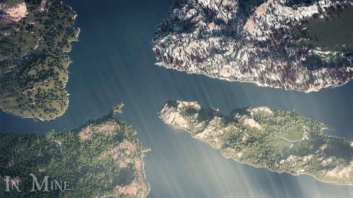 Popular Project : 4 islands of magic - 4000x4000