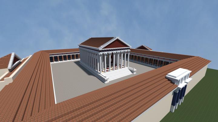 Popular Project : Hadrianeum - Temple of Hadrian
