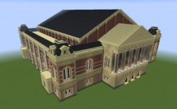 Concertgebouw Amsterdam (download+schematic) Minecraft Map & Project