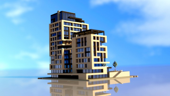 Popular Project : Modern Skyscraper #1 | World of Keralis