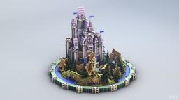 Castle Le Pe Tux Minecraft Map & Project