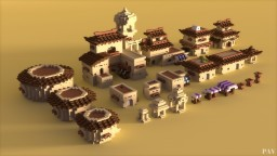 Japarabic Houses Building Bundle by _PAV_ Minecraft Map & Project