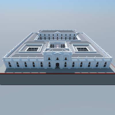 Popular Project : La Moneda Palace, Santiago, Chile