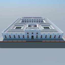 La Moneda Palace, Santiago, Chile Minecraft Map & Project