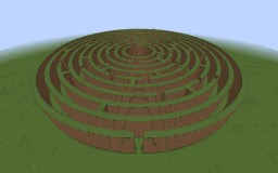 Labyrinth - Round Minecraft Map & Project