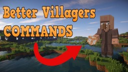 Better Villagers command Minecraft Map & Project