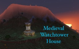 Medieval Watchtower House Minecraft Map & Project