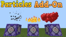 Particles Command Bedrock Edition Minecraft Map & Project