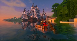 PirateCraft - Pirate themed minecraft server, build working ships and cannons! 1.12.2 - 1.16.5 ⚓ Now 8 years old! Minecraft Server