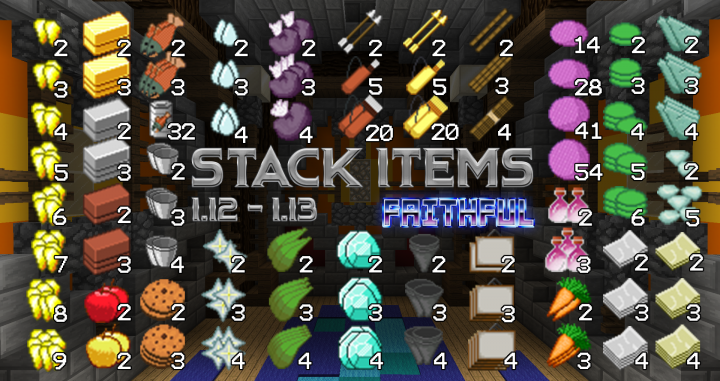 32x32] Stack Item - ResourcePack for Stacked Items w