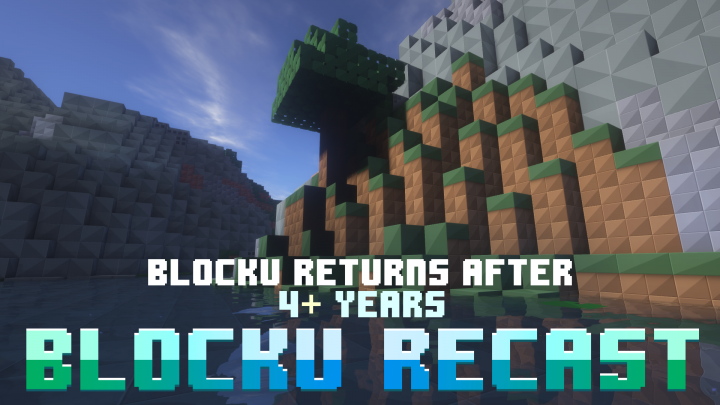 Popular Texture Pack : Blocku Recast x128 [First Update In 4+ Years!]
