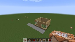 Auto Building House Minecraft Map & Project