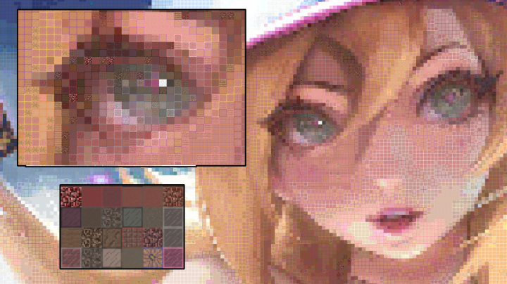 Popular Mod : PixelStacker - photo generator for Minecraft