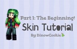 Dinow's tutorials part 1: The beginning! How to make your own Minecraft skin. Minecraft Blog Post