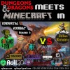 DnD meets MC in Goblins vs Knights Open Beta Halloween Extravaganza Minecraft