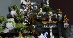 Castle Build Minecraft Map & Project