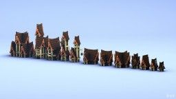 Medieval Houses Building Bundle by _PAV_ Minecraft Map & Project