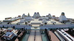 Tenochtitlan Minecraft Map & Project