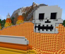 """Skull Mountain"" Minecraft Map & Project"