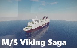 M/S Viking Saga Minecraft Map & Project
