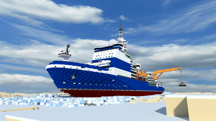 Popular Project : nuclear icebreaker  Project 10171.8 - kinivikor