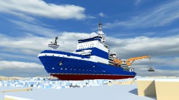 nuclear icebreaker  Project 10171.8 - kinivikor Minecraft Map & Project