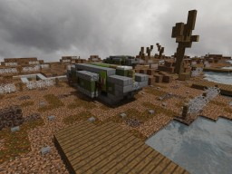 Realistic WWI Battlefield Extended Minecraft Map & Project