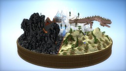 The fight of elements Minecraft Map & Project