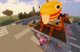 Fortnite-GreasyGrove Proggress.. -UPDATED Minecraft