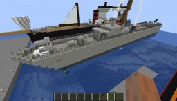 FICTIONAL SHIPPING Minecraft Map & Project