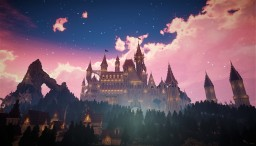 Windia Castle -A fairytale castle- Minecraft