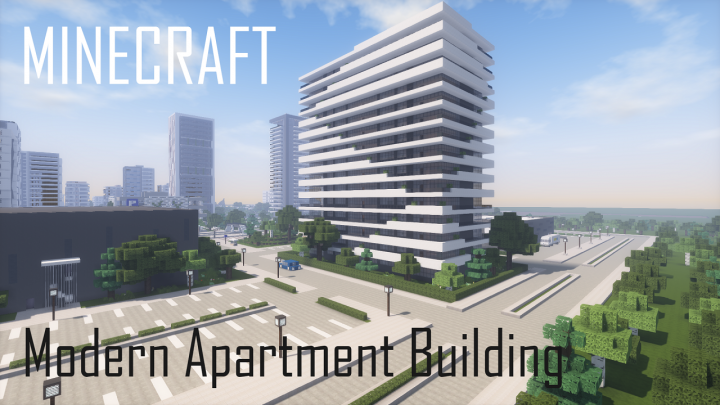 Popular Project : Modern Apartment Building 8 (full interior)