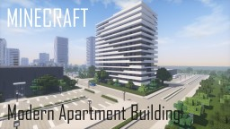 Modern Apartment Building 8 (full interior) Minecraft Map & Project