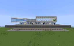 Blockton Internernational Airport Minecraft Map & Project