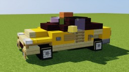 Tesla Taxi Minecraft Map & Project