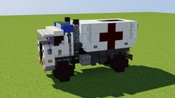 Ambulance Truck Minecraft Map & Project