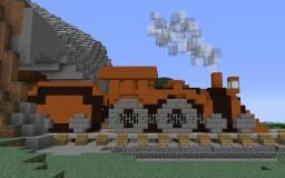 Steam Engine Minecraft Map & Project