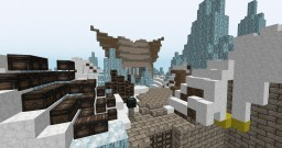 {COMMISSION} Frozen Mine Minecraft Map & Project