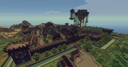 !!!NEW UPDATE!!! Mine-Venture - Medieval Fantasy Town Minecraft Map & Project