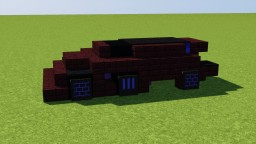 Chevrolet FNR Concept Car Minecraft Map & Project
