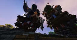 SteamTree: The Steampunk City Minecraft Map & Project