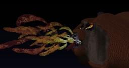 Fire-Breathing Pumpkin Minecraft Map & Project