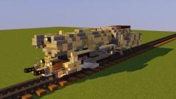 Kriegslokomotive BR-52 Minecraft Map & Project