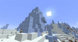 Ice Spikes Survival House at Zero, Zero Minecraft