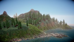 Nivenheim - Fantasy landscaped Island Minecraft Map & Project