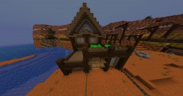 Mesa house 1 Minecraft