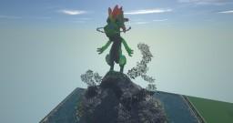 Cartoon Dragon Minecraft Map & Project